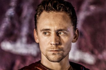 Tom Hiddleston plays Coriolanus in NT Live's production