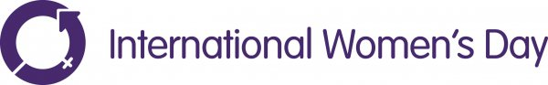 International Women's Day Logo colour purple