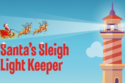 Santa's Sleigh Light Keeper