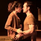 2. Halina Reijn and Jude Law in Obsession at the Barbican Theatre. Photo by Jan Versweyveld