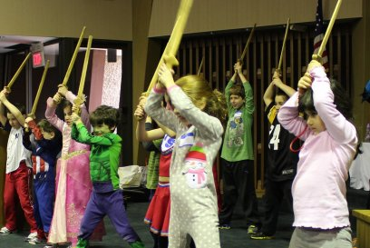 Children: Intro to Stage Combat