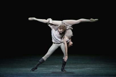 Francesca Hayward and Edward Watson in Kenneth MacMillan's Manon c2014 ROH. Photographed by Alice Pennefather