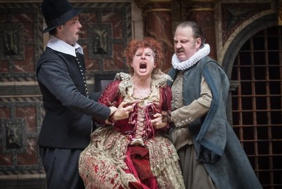 Globe on Screen: Measure for Measure