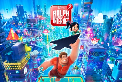Ralph breaks the internet landscape